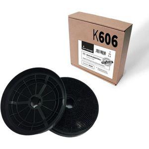 2 x grille ventilation filtres pour cata b/&q hotte mousse filtre coupe pour taille 57cm
