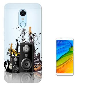 COQUE - BUMPER c01622 - Abstract Speaker Music Design Xiaomi Redm