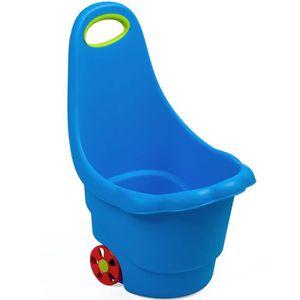 PORTEUR - POUSSEUR DAISY Pousseur chariot de rangement jouets avec po