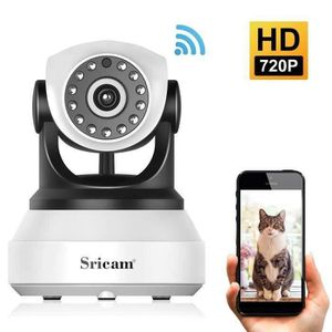 CAMÉRA IP Sricam SP017 Caméra de Sécurité sans Fil, WiFi Cam