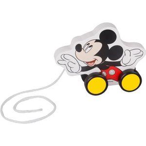 PORTEUR - POUSSEUR Disney - Jouet à tracter en bois Mickey
