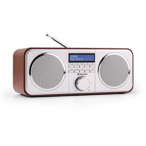 RADIO CD CASSETTE auna Georgia • numérique • DAB+-FM • divers modes