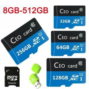 CARTE MÉMOIRE 128Go de nouvelles cartes de mémoire de mode Class