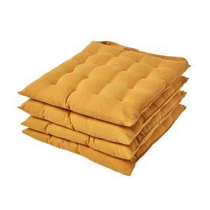 douceur dint/érieur 3 serviettes de table 40x40 cm essentiel prune