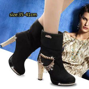 BOTTINE Chaussures Femme Bottes à talons hauts Talon Haut