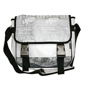 fe322d4f6d BESACE - SAC REPORTER GRANDE BESACE BLANCHE RICA LEWIS