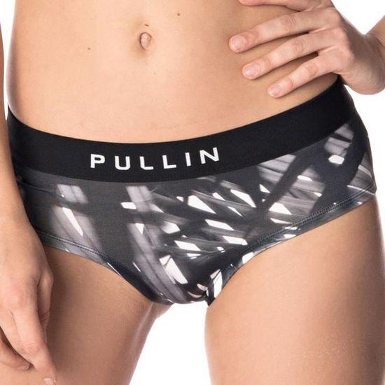 PULL IN Shorty Femme Microfibre WILD Noir