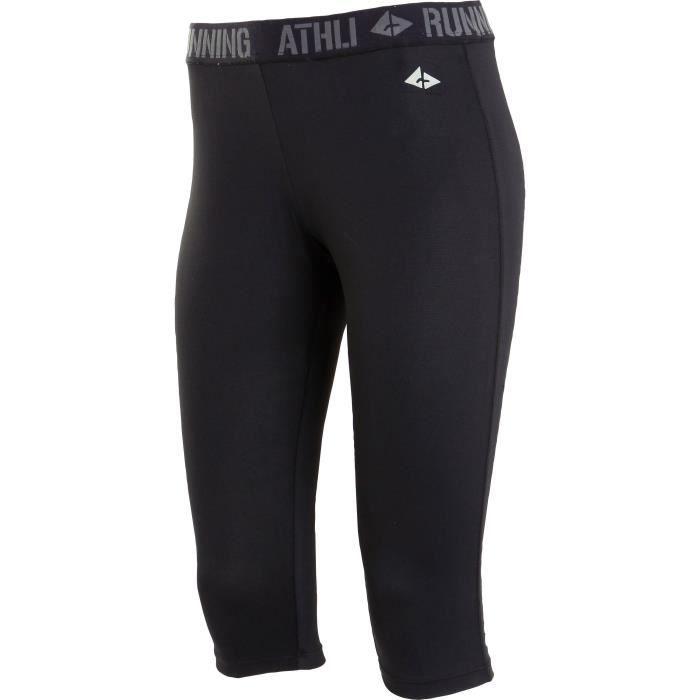 ATHLI-TECH Corsaire de running Abelia - Homme - Noir