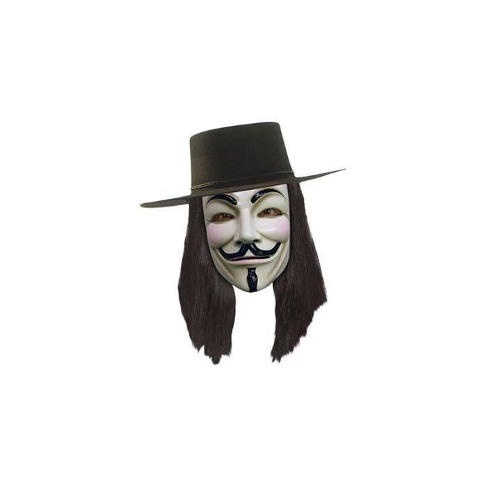 Perruque V pour Vendetta / Anonymous