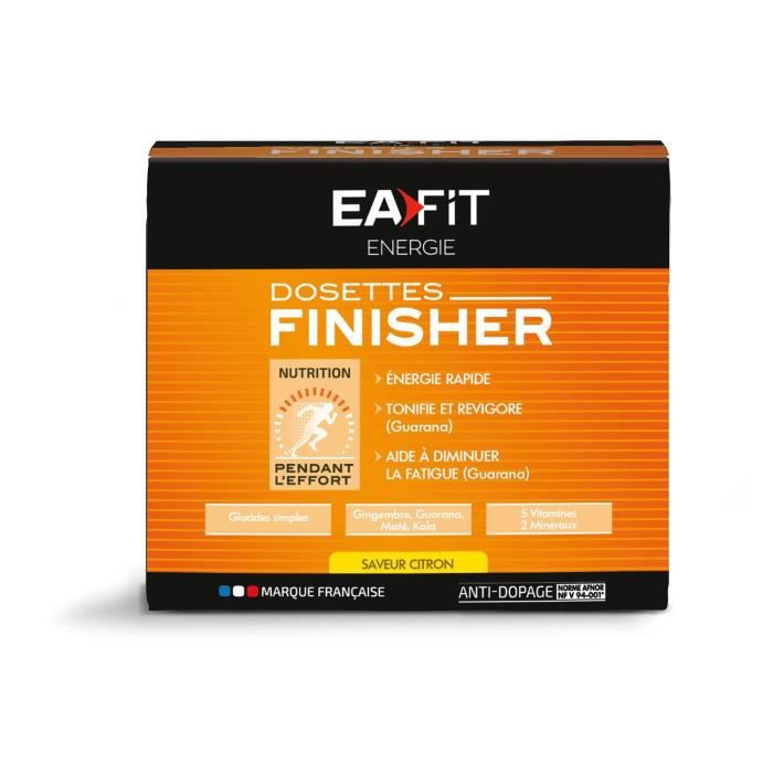 EAFIT Finisher - Citron - Bte de 10