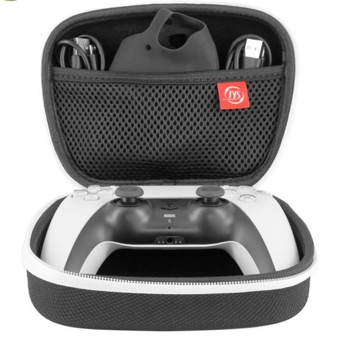 Housse de protection EVA étanche et compressive pour manette de jeu PS5 - Noir