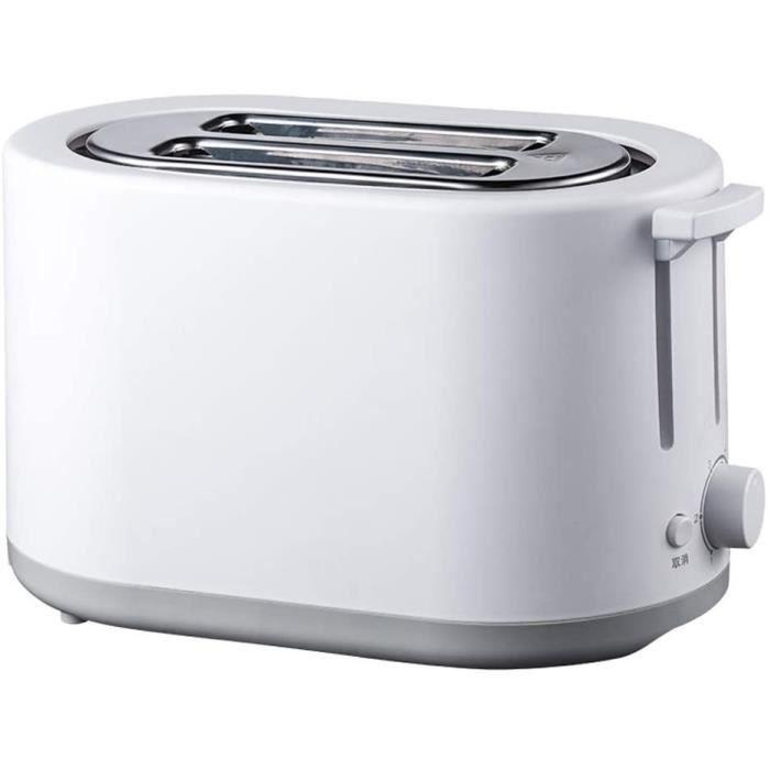 TOASTER Grille Pain Grillepain automatiquesMachines Petitdeacutejeuner Toast machine pain tranches Grillepain Petit pain Miette 1306