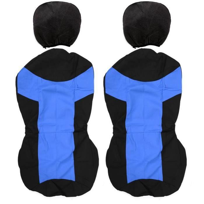 HURRISE housse d'appui-tête 4 pièces ensemble de couverture de sièges de voiture pilote copilote sièges protecteur accessoire