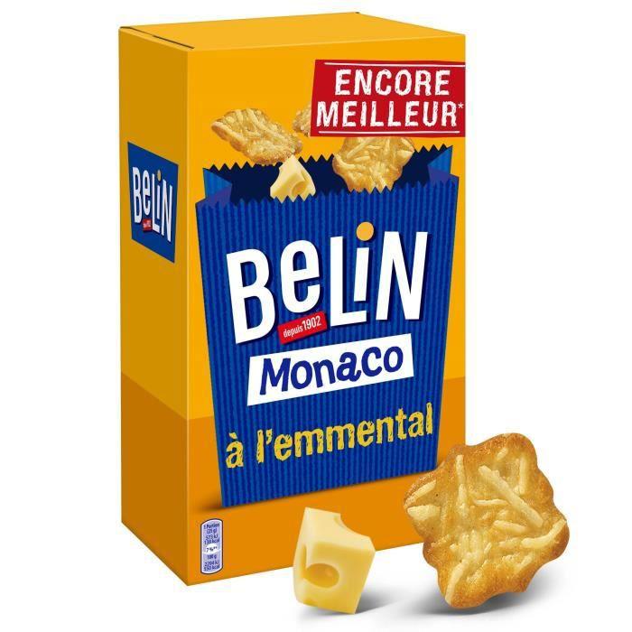BELIN Monaco à l'emmental 50g