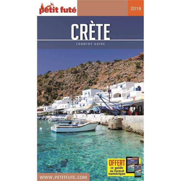 Livre - GUIDE PETIT FUTE COUNTRY GUIDE Crète (édition 2018)
