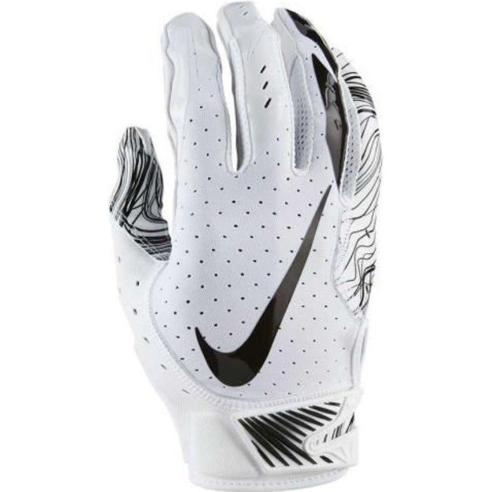 Nike - Vapor Jet 5 Gants Football Américain Homme White/Black - (x-large)