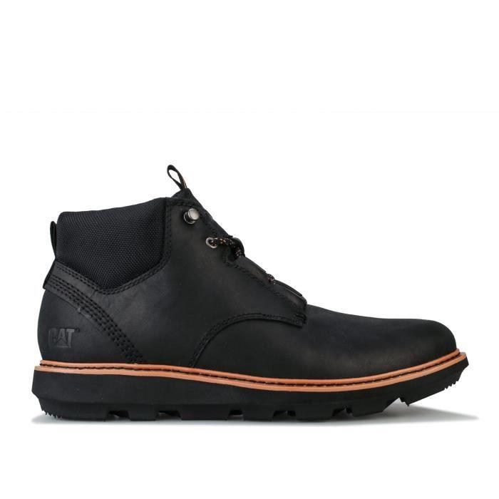 Boots Caterpillar Brusk Lace Pour Homme En Noir.