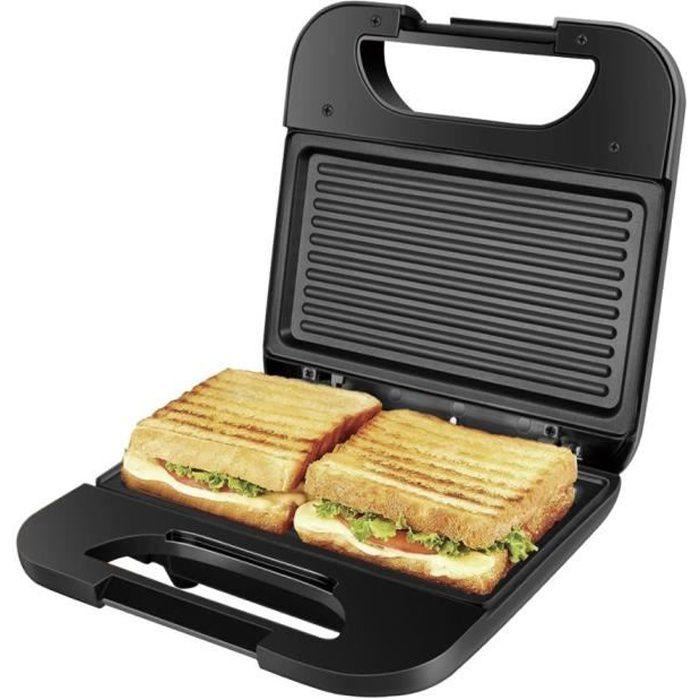 Gaufrier électrique en fer Argent pour Sandwich et gâteau aux noix