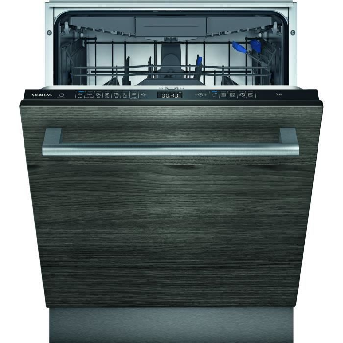 Lave-vaisselle tout intégrable SIEMENS SN65EX68CE iQ500 - 14 couverts - Induction - L60cm - 39 dB