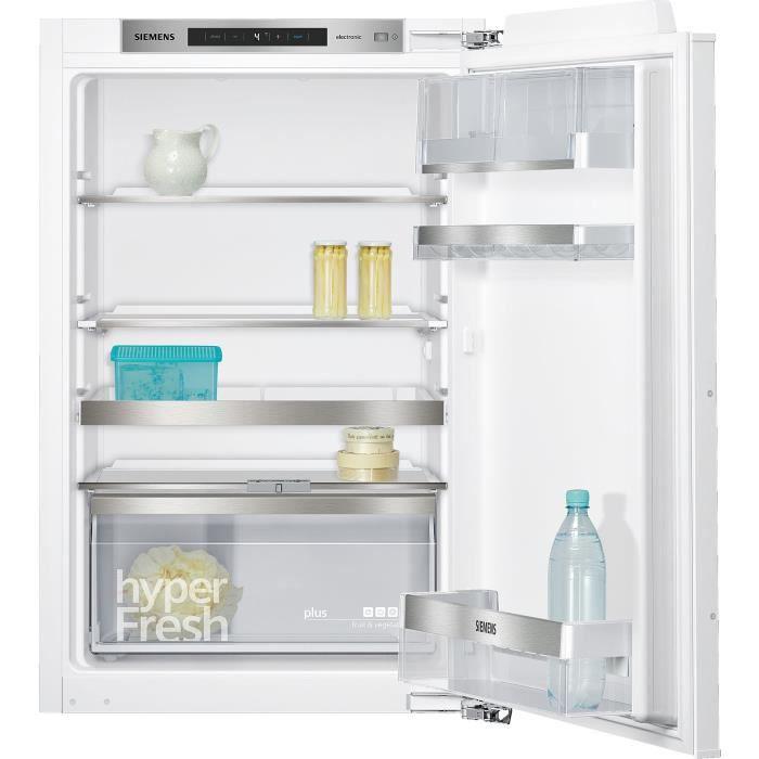 siemens - réfrigérateur 1 porte intégrable à pantographe 144l a++ - ki21radf0
