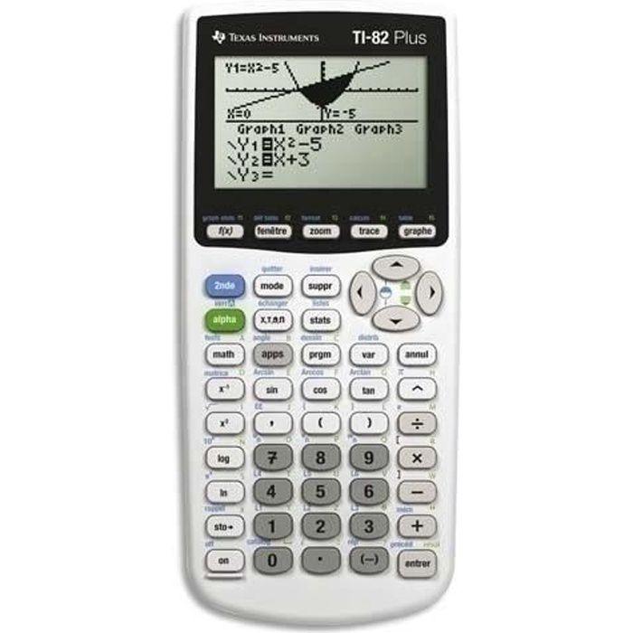 TEXAS INSTRUMENTS Calculatrice graphique TI-82 Plus