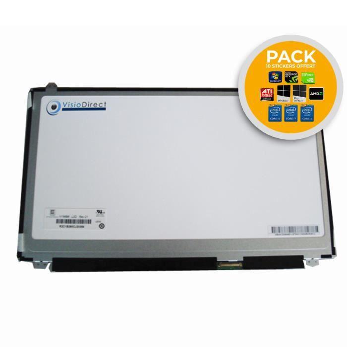 Dalle Ecran 15.6- LED pour HP COMPAQ ENVY 15-J140NF +10 stickers offert