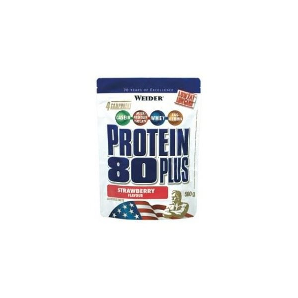 WEIDER Sachet de Protein 80+ Fruits Rouges 500g