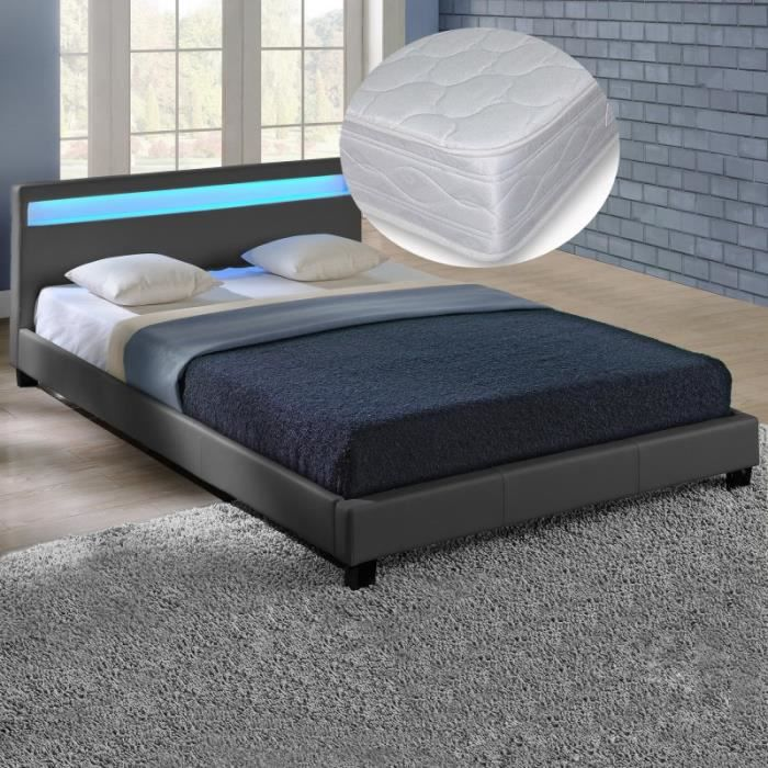 matelas sommier 140x200 maison design. Black Bedroom Furniture Sets. Home Design Ideas