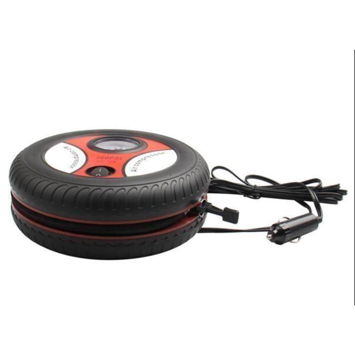 Football Wuudi Pompe /à V/élo Pompe /à Air Mini Portable 160 PSI V/élo Pompe /à Pied avec V/élo Kit doutils pour VTT V/élo denfant Basketball