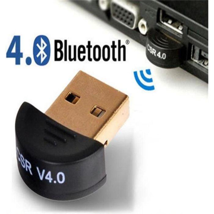 ADAPTATEUR BLUETOOTH Mini  Adaptateur USB 2.0 Bluetooth V4. 0 adaptateu