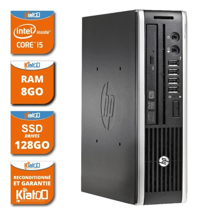 ordinateur de bureau hp 8200 usdt intel core i5 8go ram 128go ssd disque dur ordinateur. Black Bedroom Furniture Sets. Home Design Ideas