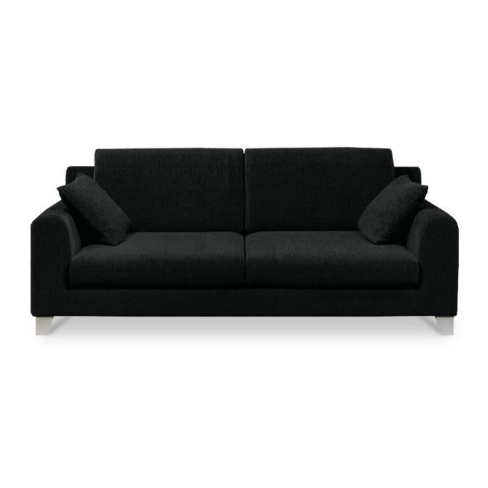 narela canap 195 cm 3 places achat vente canap sofa divan cdiscount. Black Bedroom Furniture Sets. Home Design Ideas