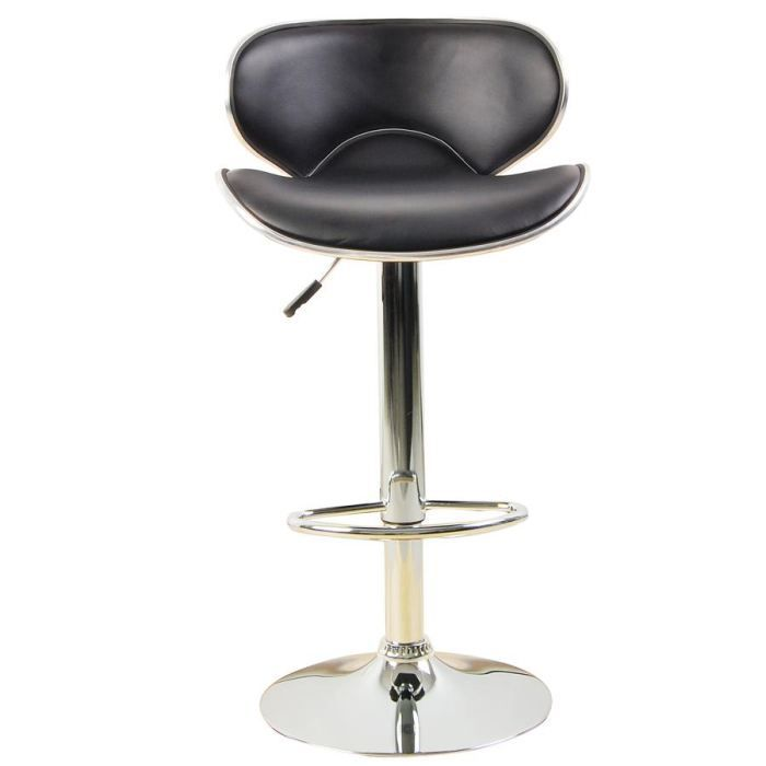 Tabouret de bar poker noir achat vente tabouret de bar polyur thane acie - Tabouret de bar smiley ...