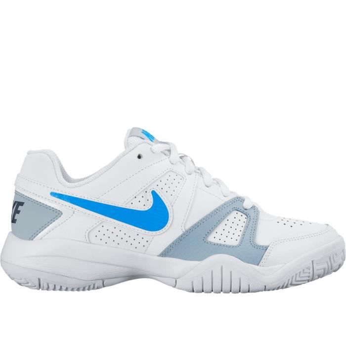 chaussures de tennis enfant nike city court noir nike