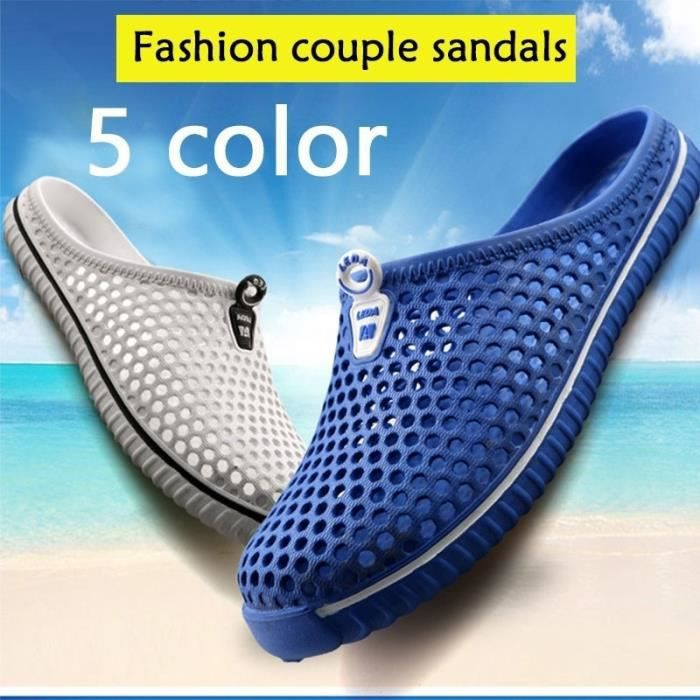 2017 New Summer Lazy Chaussures Chaussures en gros Chaussures Casual Mesh respirant Hollow Men Shoes,bleu,39