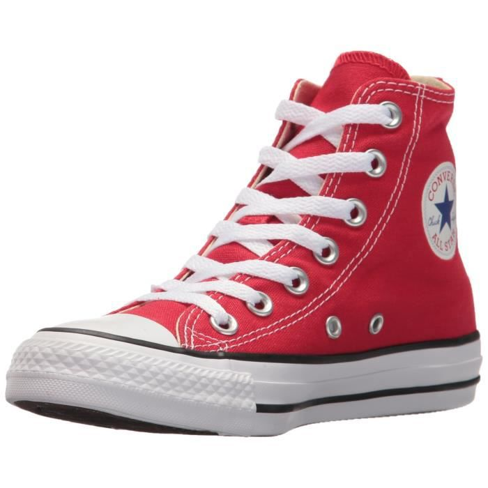 Converse femmes chuck taylor all star rouge salut formateurs 3JH9N9  Taille-40 1-2