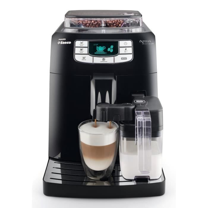 Machine expresso automatique puissance 1900 w pression 15 bars broyeurs c ramiques - Detartrage machine a cafe ...