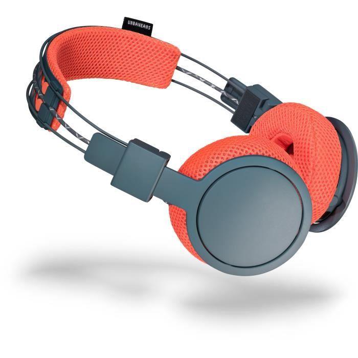 Urbanears Hellas Casque Audio Bluetooth Gris Et Corail Casque écouteurs Avis Et Prix Pas Cher Cdiscount