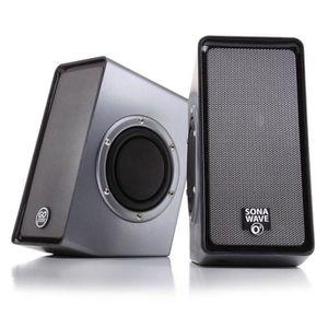 ENCEINTES ORDINATEUR SonaVERSE O2 Haut-Parleur enceinte USB portable