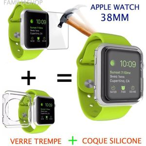 PROTECTION MONTRE CONN. Coque protection transparent souple silicone gel a