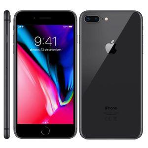 SMARTPHONE Noir Apple Iphone 8 PLUS 64Go occasion débloqué re