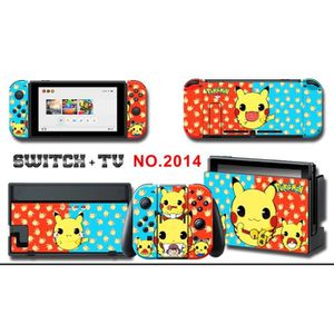 STICKER - SKIN CONSOLE Vinyl Skin Stickers pour Nintendo Switch Pikachu