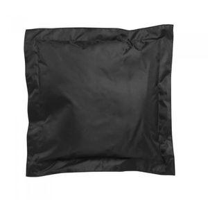 COUSSIN Lot de 2 Coussins Extérieurs Noir 45 x 45 x 4 cm