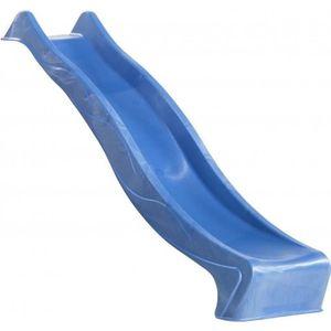 TOBOGGAN AXI Glissière de toboggan 220 cm - Bleu