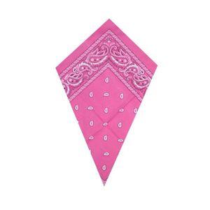 Bébé Rose Paisley Bandana Coton Tête foulard