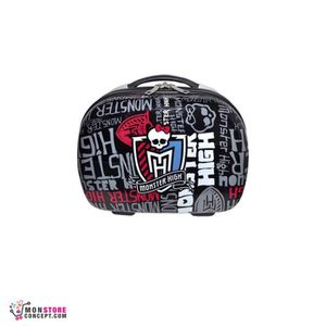 valise bagage vanity 30 cm black monster high