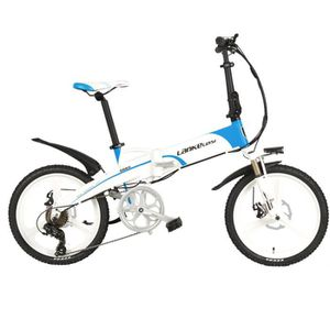 VÉLO PLIANT  Vélo électrique à 7 vitesses, portable 20 pouces