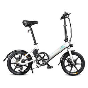 VÉLO ASSISTANCE ÉLEC Fiido D3 Vélo Électrique Portable Vitesse Variable