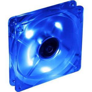 VENTILATION   ventilateur à LED bleu, 120x120x25mm, TITAN