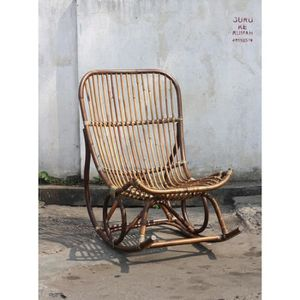 SALON DE JARDIN  Rocking chair - MANUELLA - L 68 x l 102 x H 102
